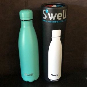 Accessories - Brand new Satin turquoise S'well Bottle